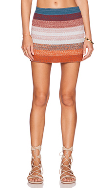 Goddis Colton Mini Skirt in Indian Sea