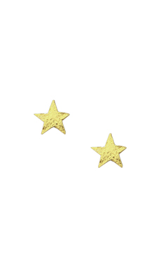 gorjana Small Star Studs in Gold