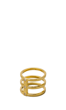 gorjana Lena Ring in Gold