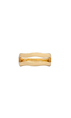 Gorjana Stella Midi Ring in Gold
