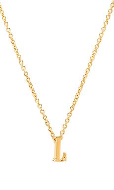 gorjana Alphabet Initial Necklace in