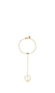 gorjana Azra Ring Bracelet in Gold
