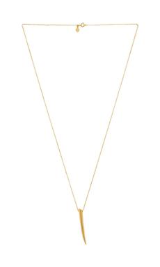 gorjana Fancy Horn Long Necklace in Gold