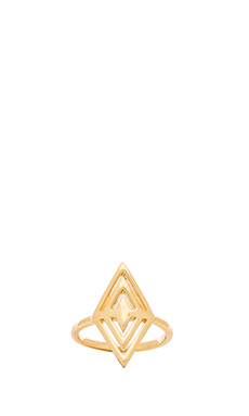 gorjana Tira Ring in Gold