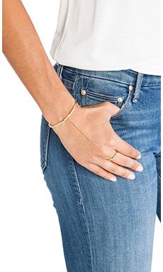 gorjana x REVOLVE Pressed Taner Shimmer Handchain in Gold