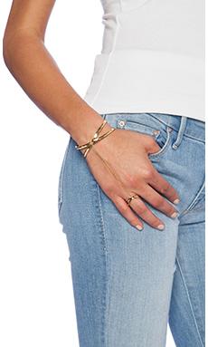gorjana Elea Handchain Cuff in Gold