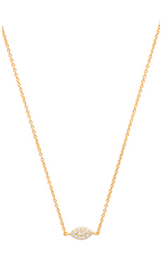gorjana Shimmer Marquee Necklace in Gold