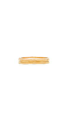 gorjana G Ring Midi Set in Gold