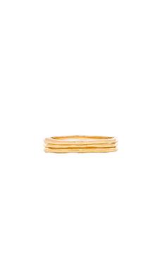 gorjana G Ring Midi Set in Gold