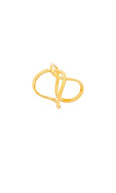 gorjana Taner Interlocking Ring in Gold