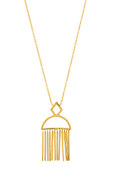 gorjana Marmont Pendant Necklace in Gold
