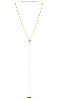 gorjana Taner Toggle Lariat Necklace in Gold