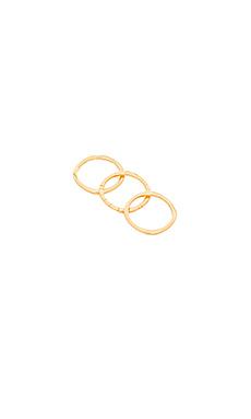 gorjana Zoe Ring Set in Gold