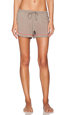 Gooseberry Intimates Milan Short Pant in Vision & Coral