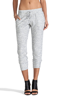 Graham & Spencer Texture Knit Sweatpant in Marled