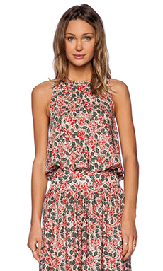 The Great The Flutter Tank in Floral Print