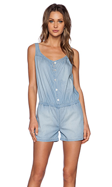 GREYWIRE Quogue Romper in Tide