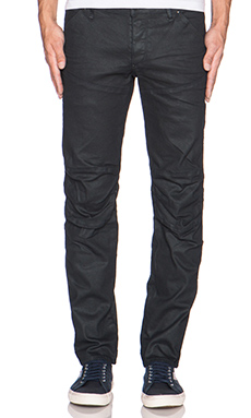 G-Star 5620 3D Low Tapered Comfort Pintt Denim in 3D Dark Aged