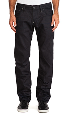G-Star Attacc Low Straight Black Format Denim in 3D Aged