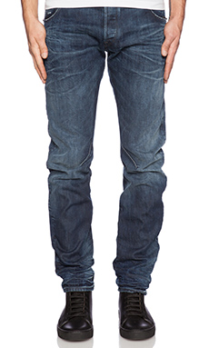 JEAN SLIM ARC ZIP 3D SLIM SWASH