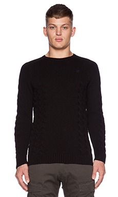 G-Star Tildo Sweater in Black