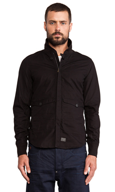 G-Star Tamson Light Weight Bomber in Black