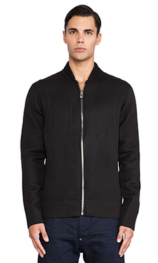 G-Star Verdem Knit Bomber in Black
