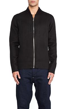 G-Star Verdem Knit Bomber in Black
