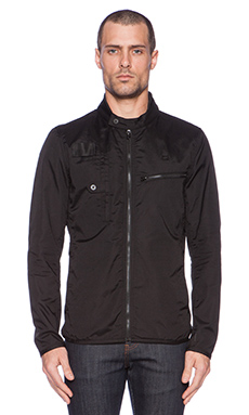 G-Star Hamzer Biker Overshirt in Black