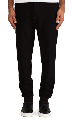 G-Star A Crotch Tapered Sweatpant in Black