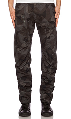 G-Star Powel 3D Tapered G-13 Camo in Black