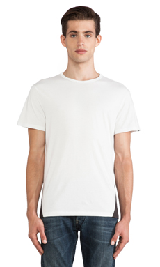 G-Star Fless Regular Tee in Snow