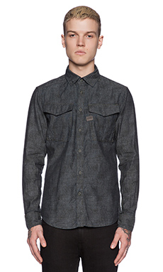 G-Star Rovic Shirt in Dark Combat