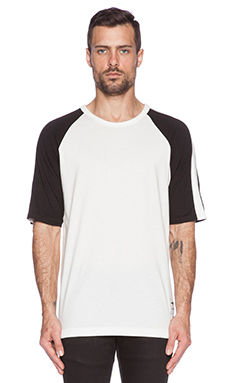 G-Star Vindal 1/2 Sleeve Tee in Light Chalk