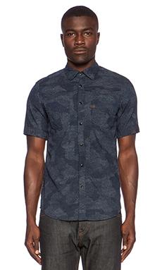 G-Star A Crotch Yoshem Work Shirt in Medium Aged