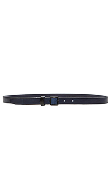 G-Star Wren Leather Belt in Indigo