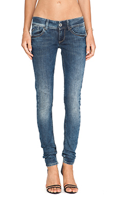 G-Star Lynn Skinny Comfort Malk Denim Medium Aged