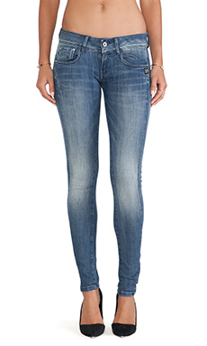 G-Star Midge Cody Skinny in Medium Aged