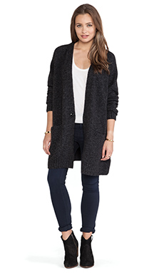 G-Star Chardell Cardigan in Black Heather