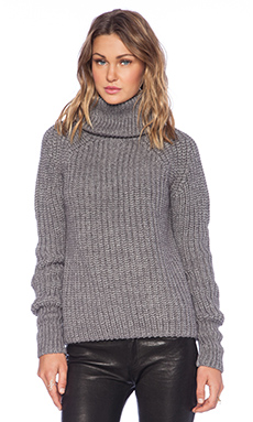 G-Star Awelis Turtle Neck Sweater in Castor Heather