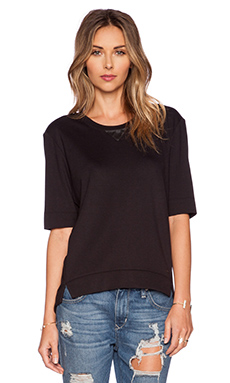 G-Star Us Lysd RT Women 1/2 Sweatshirt in Black