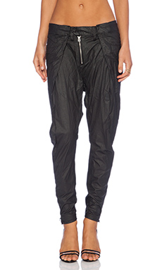 G-Star Lynn Pleated Pant in Black