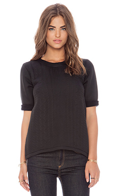 G-Star Merdid R Knit Top in Black