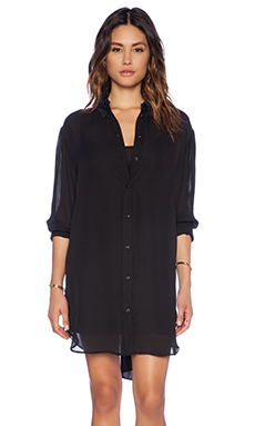 G-Star Supersize Crepe Shirt in Black