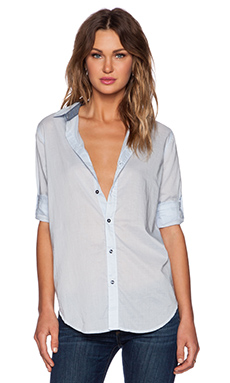 G-Star Sharill Boyfriend Shirt in Laundry Blue