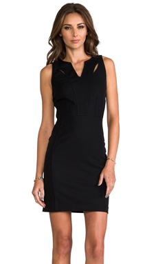 Greylin Victoria Cutout Dress in Black