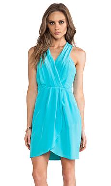 Greylin Maggie Silk Dress in Aqua