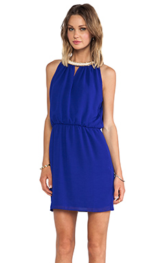 Greylin Betty Chain Dress in Cobalt