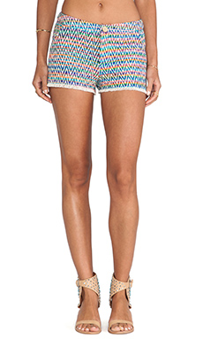 Greylin Natalia Tweed Shorts in Pink
