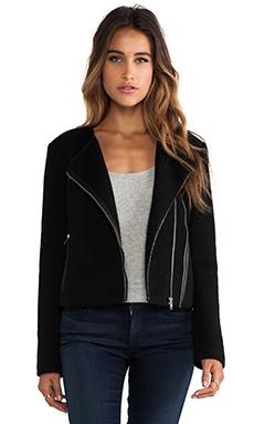 Greylin Karla Moto Jacket in Black